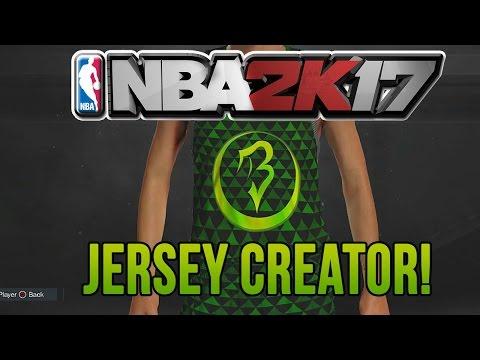 NBA 2K17 How to Unlock Jersey Creator + Tips