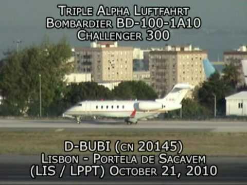 Triple Alpha Luftfahrt Bombardier BD-100-1A10 Challenger 300