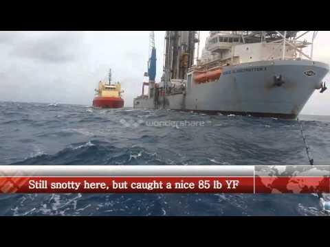392 NOR-TECH Fishing In 6' Seas Alabama Deep Sea Fishing Rodeo 2014 Nortech