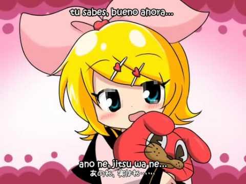 [Rin Kagamine] Su-Su-Suki, Daisuki! subs español y romaji