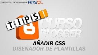 Crea tu Blog Facilmente - Añadir CSS