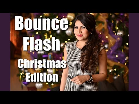 Bouncing Flash for Awesome Portraits - Christmas Edition!