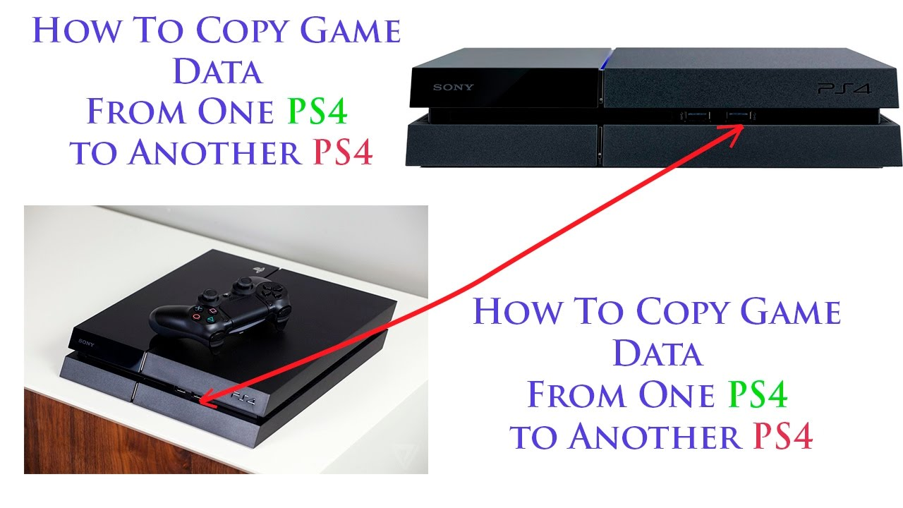 How to Copy Game Data From One PS4 to Another PS4