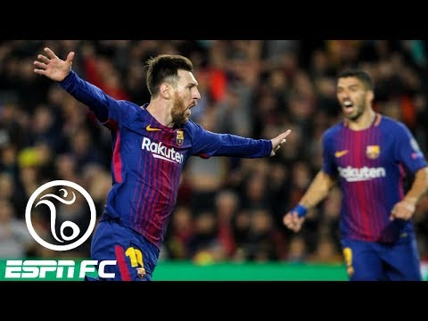 Barcelona rolls over roma 4-1 in champions league quarterfinals thanks to two own goals | espn fc