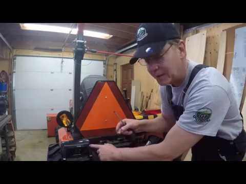 #113 Kubota B2601 Compact Tractor Hazard Light Repair And A Majestic Sighting!