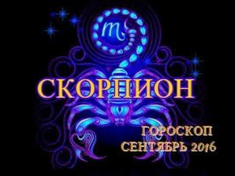 Гороскоп скорпион за завтро