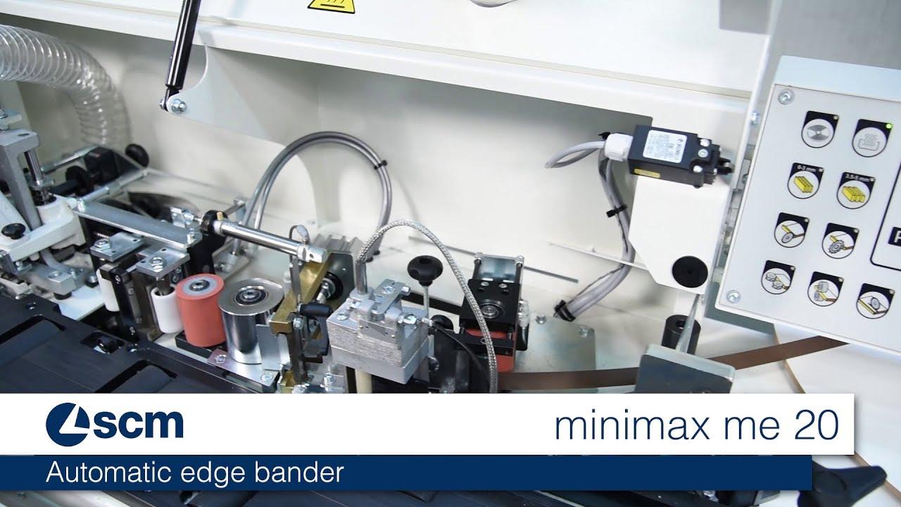 Automatic edge bander SCM minimax me 20