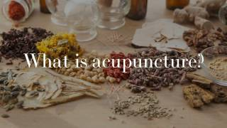 Acuherbs - what is acupuncture?
