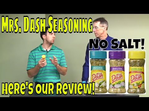 Mrs. Dash Seasoning, NO Salt! Here's Our Review!