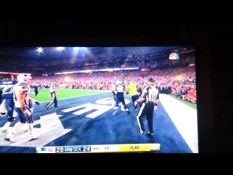SUPERBOWL 49 FIGHT Between Patriots And Seahawks!!!