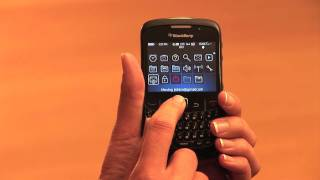 How to Move and Hide Icons on a Blackberry