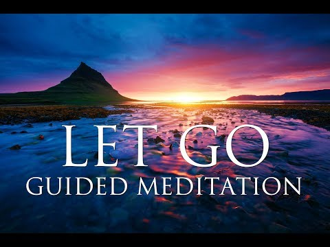 LET GO of Anxiety, Fear & Worries: A GUIDED MEDITATION ➤ Harmony, Inner Peace & Emotional Healing