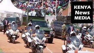 MASHUJAA DAY celebrations 2018 in Kakamega led by President Uhuru Kenyatta!!
