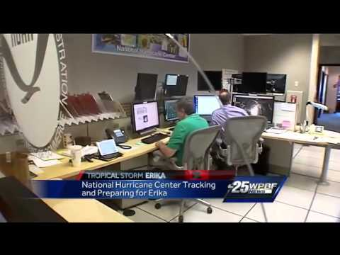 Inside the National Hurricane Center