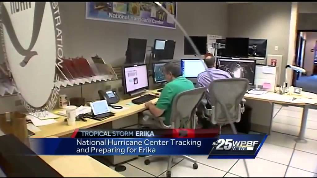 National Hurricane Center's headquarters is in Irma's path