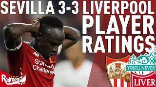 Moreno Gets A 3.. | Sevilla v Liverpool 3-3 | Chris' Player Ratings
