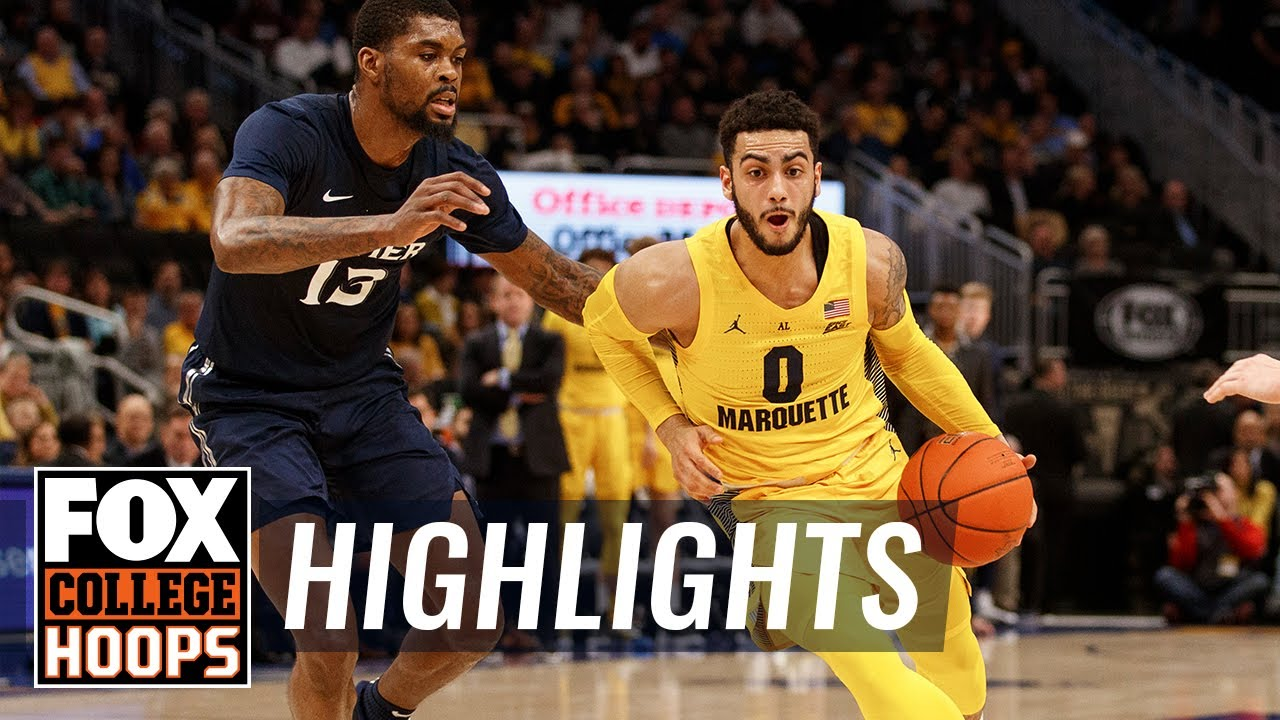 Markus Howard dropped 35 points as Marquette cruised past Xavier  HIGHLIGHTS