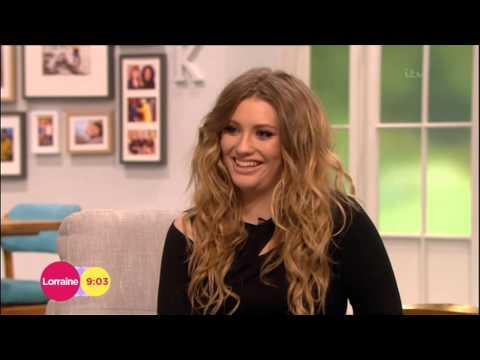Ella Henderson interview on Lorraine 13/2/15