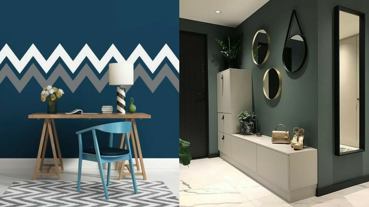 100 Wall Paint Ideas For Modern Home Interior Design 2021 Youtube