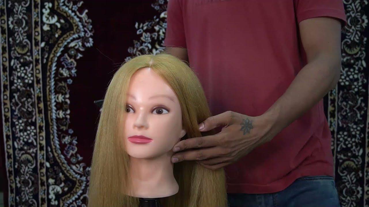 Basic hair style  2nd class high bun    Tutorial    #sonumakeupartist    #hairdo #haircut    #bride