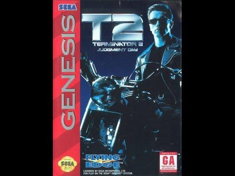T2: Terminator 2 Judgment Day Прохождение (Sega Rus)