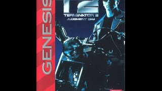 T2: Terminator 2 Judgment Day Прохождение (Sega Rus)