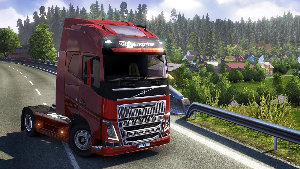 euro truck simulator 2 scandinavia test video zum. Black Bedroom Furniture Sets. Home Design Ideas