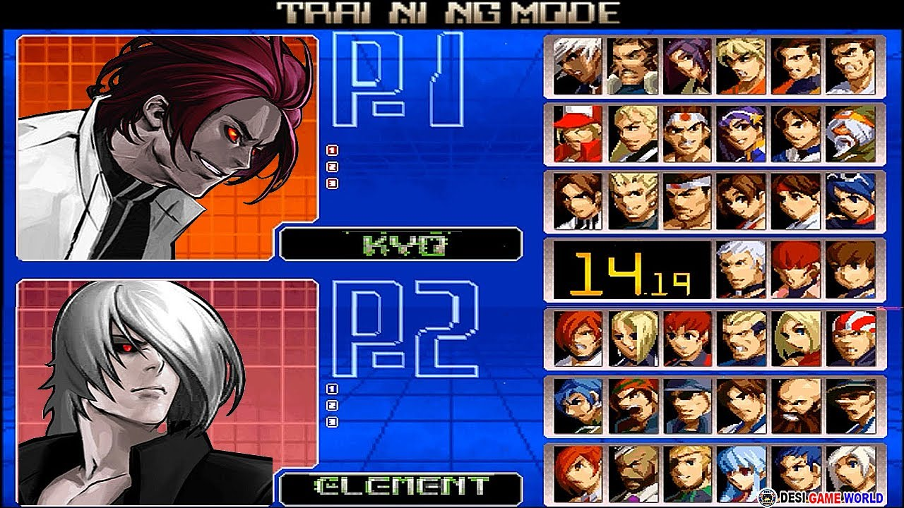 The king of fighters 2002 All Mix 6.0 Different Type Kyo And Iori  2021