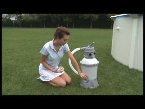 Bestway Sand Filter Francais Youtube