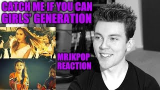 Gambar cover GIRLS' GENERATION Catch Me If You Can Reaction / Review - MRJKPOP