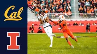California Vs Illinois Redbox Bowl Highlights   2019