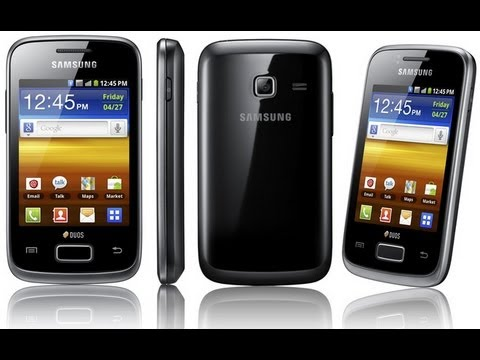 Обзор Samsung GT-S6102 Galaxy Y Duos