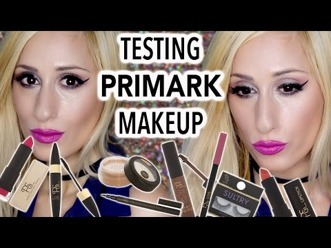 TESTING PRIMARK MAKEUP! 😱 Full Face + REVIEWS