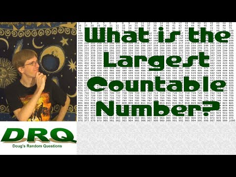 What is the Largest Countable Number?
