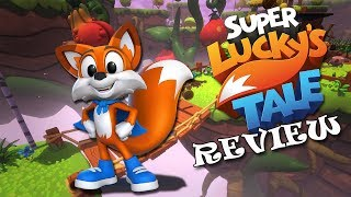 Can this Xbox One PLATFORMER compete? Super Lucky's Tale Review (Video Game Video Review)
