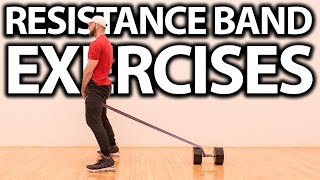 TOP 5 RESISTANCE BAND VERTICAL JUMP EXERCISES TO JUMP HIGHER!