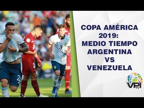 EN VIVO - Medio Tiempo Partido Argentina VS Venezuela