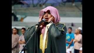 Ustaz Sayang Anda | Stadium MBPJ: Laungan Azan Maghrib oleh Syeikh Abdul Karim Omar