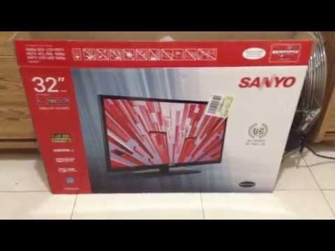 "My Demonstration of My Sanyo 32"" 1080p LED LCD HDTV"