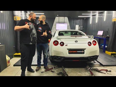 Самый мощный блогерский проект — GT-R на 1500 л.с.