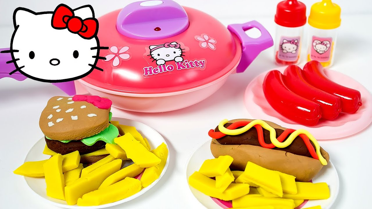 Hello Kitty Kitchen Playset ハローキティ キッチンセット Hello ...