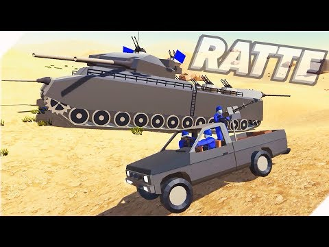 Супер ТАНК МОНСТР - RATTE - Игра Ravenfield