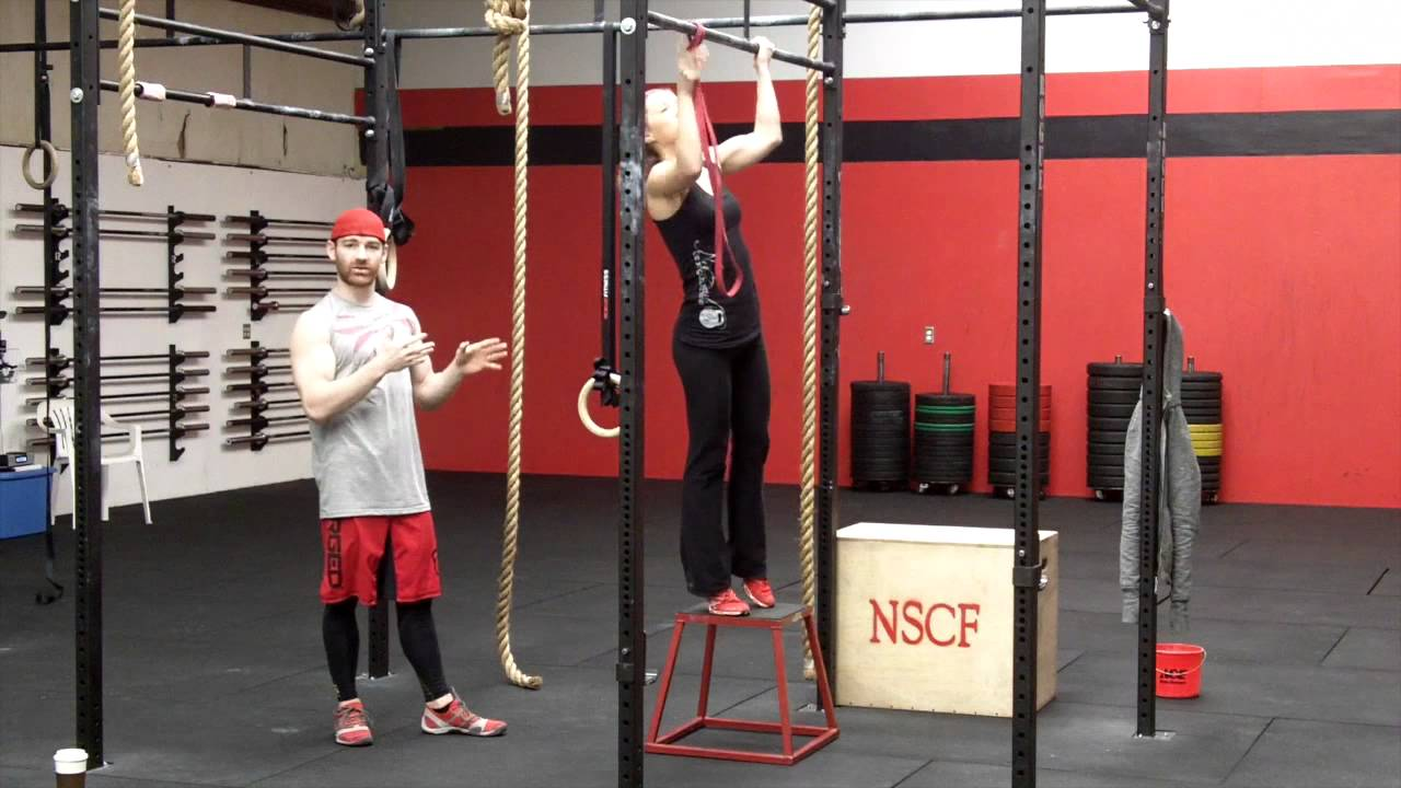 CrossFit Pull Ups - Modified - Northstate CrossFit