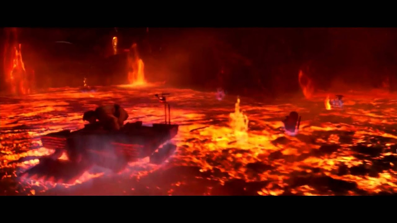 Sith Wallpaper Hd Anakin Vs Obi Wan Hd Looper Trailer Music Youtube