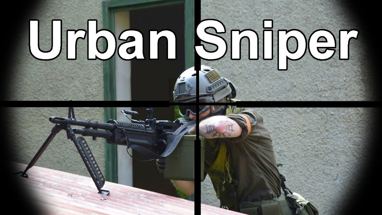 Airsoft Sniper Gameplay - Scope Cam - Urban Sniper 2