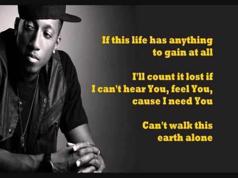 Boasting  Lecrae feat Anthony Evans  lyrics on screen