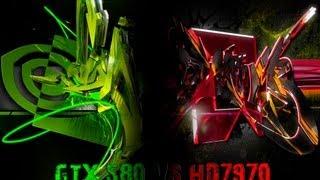 Metro 2033 HD 7970 vs GTX 580