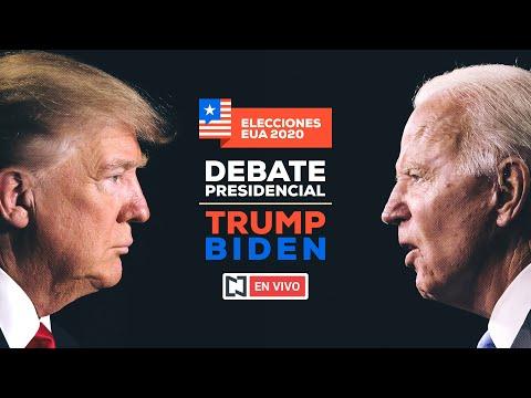 En vivo en español: Debate presidencial entre Donald Trump y Joe Biden