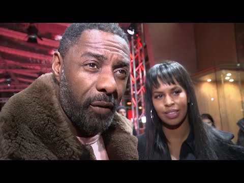 Idris Elba  no wedding date yet
