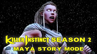 Killer Instinct - Maya - Story Mode/Ending - Season 2